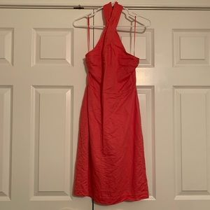 Banana Republic Size 2 Coral High Neck Halter